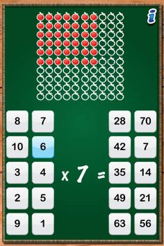 MathTappers: Multiples - a math game to help children learn basic facts for multiplication and division by HeavyLifters Network Ltd.