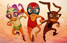 Mucha Lucha Best Cartoons Ever, Cool Cartoons, Cartoon Network, Bowser, My Friend, Fictional Characters, Illustrations, My Boyfriend, Fantasy Characters