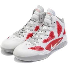 www.asneakers4u.com/ Nike Zoom Hyperfuse 2011 White/Varsity Red/Metallic Silver