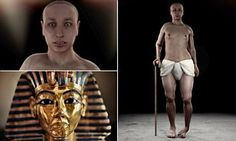Tutankhamun had girlish hips, a club foot and buck teeth according to a 'virtual autopsy' | Daily Mail Online