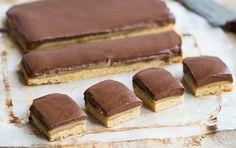 Sugar-free caramel slice