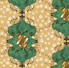 Deer fabric by jadegordon on Spoonflower