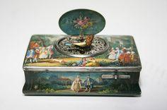 Juvenia Singing Bird Box Music Box Automaton | eBay