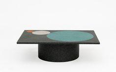 Crescendo Black Coffee Table  2012  Pierre Charpin | Galerie kreo