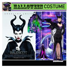 """Maleficent Halloween Costume"" by yours-styling-best-friend ❤ liked on Polyvore featuring Disney"