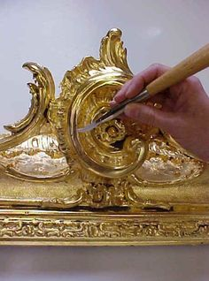 time-honored method of gilding