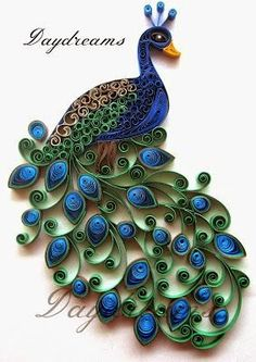 What is quilling? Guide quilling constructions + 45 great ideas! | Do it yourself - Construction DIY - Do it yourself