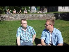A chat with swedish-speking students from Vaasa.
