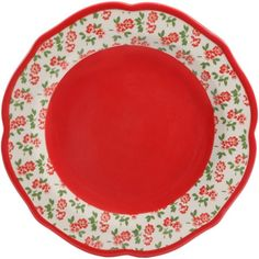 The Pioneer Woman Timeless Floral & Retro Dot Dinnerware Set Image 5 of 14 Dots Design, Floral Design, Kids Dinner Sets, Dinnerware Sets Walmart, Pioneer Woman Kitchen, Famous Recipe, Plates And Bowls, Showcase Design, Pattern Mixing