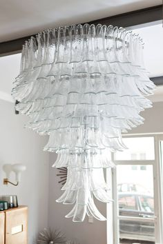 Very Big Barovier and Toso Chandelier, Italy circa 1960 at 1stdibs