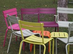 Fermob Luxembourg Chairs.