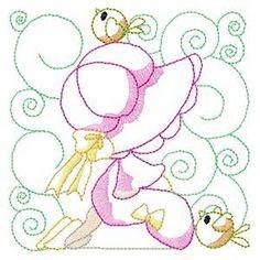 Baby Sunbonnet Girls