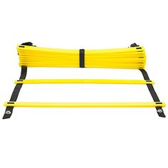 Agility Ladder Arespark 12 rung Durable Training Ladders for Soccer Speed Football with Carry Bag ** Continue to the product at the image link.