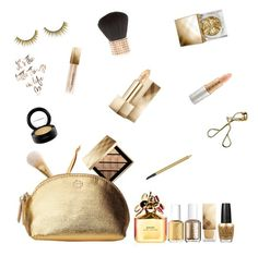 Golden Burberry Dream 15.01 by daughteroftheharpy on Polyvore featuring polyvore, ljepota, Burberry, MAC Cosmetics, Mariah Carey, Forever 21, tarte, Estée Lauder, Marc Jacobs, Tory Burch, OPI, Essie, makeup and metallic