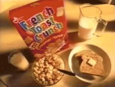 food breakfast delicious cereal french toast crunch trending #GIF on #Giphy via #IFTTT http://gph.is/1p2AH0J