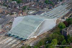 Liège-Guillemins railway station - architect Santiago Calatrava