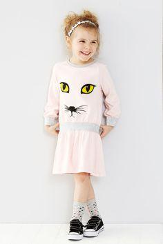 NEW Cat Print Dress