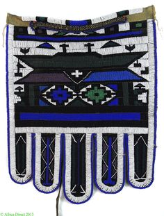 Ndebele Beaded Apron by Esther Mahlangu South Africa Superb