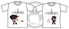 We're Irresistibly Attracted© Couple T-Shirts - so cute. I really want this!! :)