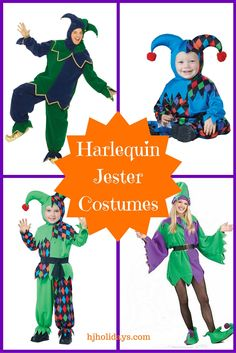 Harlequin Jester Cos