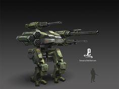 MAV Concept - Inspired from Chromehounds
