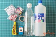 【暮らし】病気で動けない子どもも楽しめる、手作りおもちゃ「キラキラボトル」 - 家電 Watch Fiji Water Bottle, Sensory Play, Spray Bottle, Vodka Bottle, Diy And Crafts, Airstone
