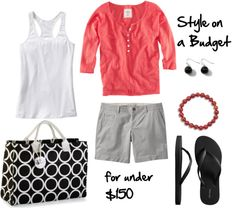 """""""Ring Around Tote"""" by bluehydrangea on Polyvore"""