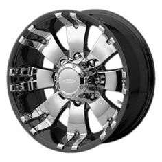Diamo DI008 18×9 Black Wheel / Rim 8×6.5 with a -10mm Offset and a 125.50 Hub Bore. Partnumber DI88980310A