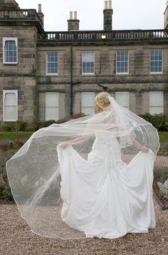 Wedding Veil Inspirations- Simplicity