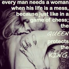 Queen Protects the King woman man queen king quote quotes love quote love quotes