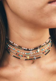 These chokers are goals <3 Pura Vida. Use code SRSAVE30 for 30% off