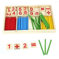 Gotd Gift Set Kids Child Wooden Numbers Mathematics Early Learning Counting Educational Toy (Multicolor) * Click picture for more information. (This is an affiliate link). Educational Toys For Preschoolers, Educational Toys For Toddlers, Mathematics Games, Toy Catalogs, Wooden Numbers, Toys For 1 Year Old, Thing 1, Fun Games For Kids, Kid Games