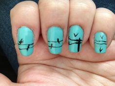 As always, cute Nails of the Day from @HelloGiggles.com When are we trying this @Amanda Warren?