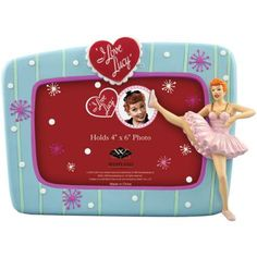 Doesn't Lucy look so very graceful in her ballet pose? I Love Lucy Picture Frame: The Ballet | LucyStore.com, $25.95