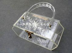 Vintage Lucite Bag
