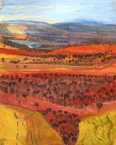 Howard Jeffs. Australian landscape