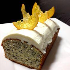 レモン ポピーシード ケーキ poppyseedcake