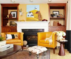 Tones of Autumn as a New trend for Home
