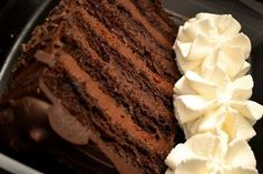 What Is The Recipe To The Cheesecake Factory's Chocolate Tower Truffle Cake? - Quora - This is a recipe for a similar chocolate cake, not necessarily the same one