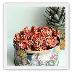 Tropisk granola med kokos, ananas og jordbær! (En helseblogg om jakten etter en friskere...)