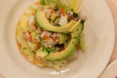 Los Amates have been serving Ceviche for around 8 years. Ceviche is a raw fish dish marinted in a citrus dressing.