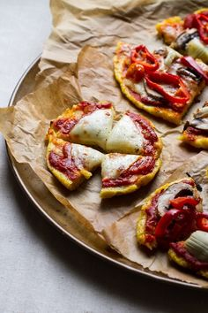 Great idea for a wheat-free pizza - polenta pizza | edible perspective
