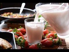 Agua de horchata con fresa - YouTube