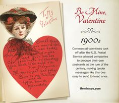 reminisce.com/Vintage-valentines | Vintage valentines through the decades: 1900s