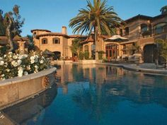 Mediterranean Style.....Now this is what i'm talking about! This is my DREAM HOME!