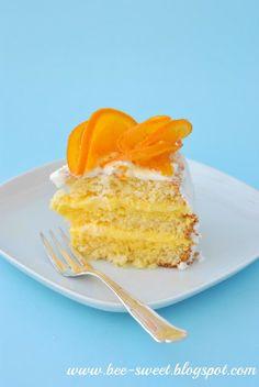 Bee Sweet: Brazylijski tort pomarańczowy
