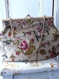 Ana Rosa floral tapestry bag ...
