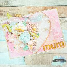 I took part in the January challenge to create something in 20 mins. I made a heart and used it to create a… Greeting Cards Handmade, Take My, Embellishments, Card Ideas, Vintage World Maps, Mixed Media, January, Decorative Boxes, Shabby Chic