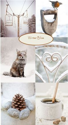 moodboard - winter bliss.. voor meer inspiratie www.stylingentrends.nl of www.facebook.com/stylingentrends