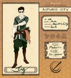   Info   .Name: Usamii Aizawa .Age: 23 .Gender: Female .Nationality: Born in the Fire Nation and raised in Republic city (Mother - Waterbender...Father - Firebender ) .Affinity: Water .Race: Non-Be...
